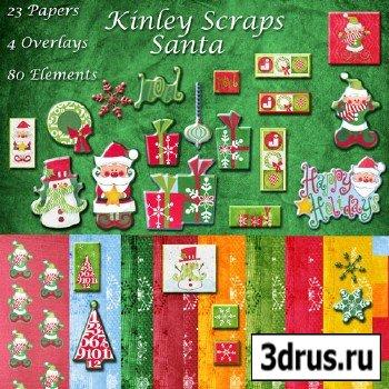 Scrap Set - Santa