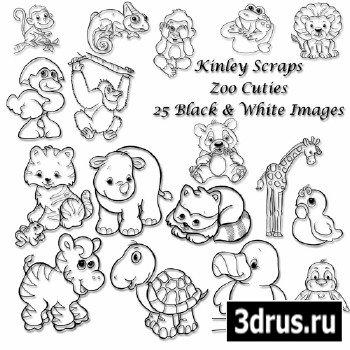 Scrap Kit - Zoo Cuties!