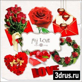 Scrap Set - My Love