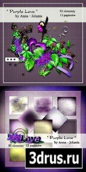 Scrap Set - Purple Love