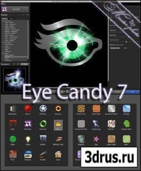 Мощный плагин для создания разнообразных эффектов в photoshop - Alien Skin Eye Candy v7.0.0