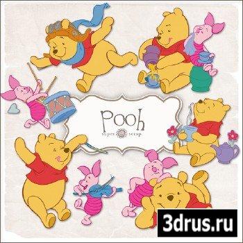 Scrap Kit Pooh