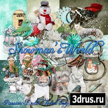 Scrap Set - Snowmans World
