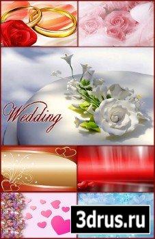 Свадебные фоны - 2