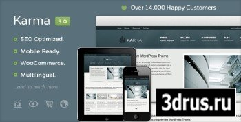 ThemeForest - Karma v3.01 - Clean and Modern Wordpress Theme