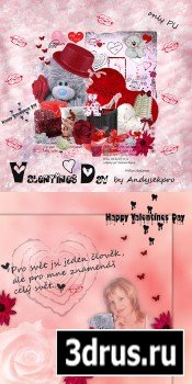 Scrap Set - Valentines Day