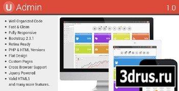 ThemeForest - uAdmin - Responsive Admin Dashboard Template