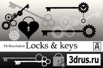Locks & Keys ABR Brushes