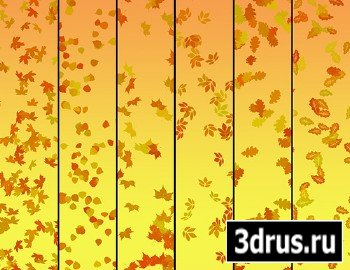 Falling Leaves - Autumn Brushes For Photoshop