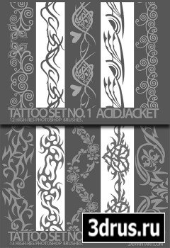Tattoo Set no. 1, 2