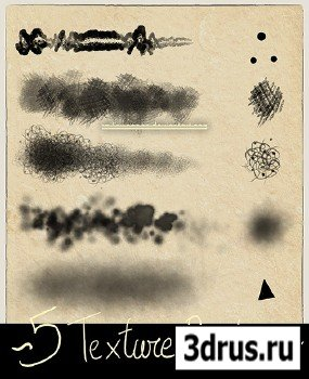 Photoshop Texture Brushes .ABR