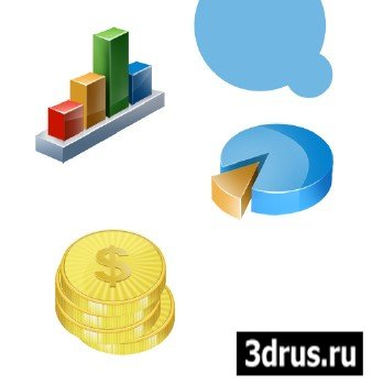 PSD Awesome Finance 3D Icon