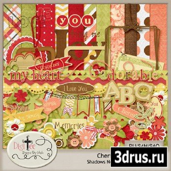 Scrap Set - Cherished PNG and JPG Files