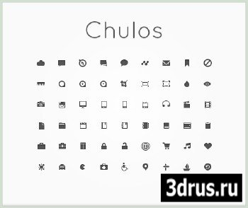 Chulos PSD Icons Pack
