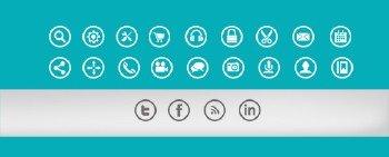 Metro Icon Set - PSD