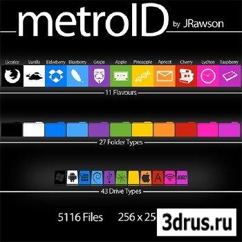 MetroID Icons Set - 5116 total icon