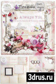 Scrap Set - Always You PNG and JPG Files