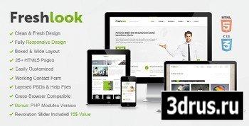 ThemeForest - Freshlook - Responsive MultiPurpose HTML5 Template - FULL