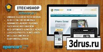 ThemeForest - iTechShop OpenCart 1.5.4 Theme