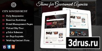 ThemeForest - City Government - Theme for Government Agencies - RIP