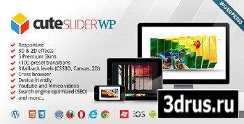 CodeCanyon - Cute Slider WP - 3D & 2D HTML5 WordPress Slider