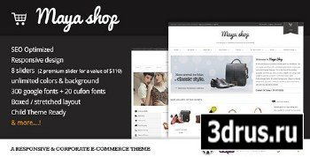 ThemeForest - MayaShop v1.9.1 - A Flexible Responsive e-Commerce Theme - FULL