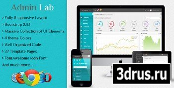 ThemeForest - Admin Lab - Responsive Admin Dashboard Template - RIP