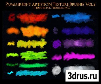 Artistic N Texture ABR Brushes Vol.2