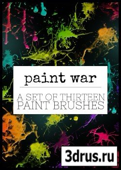ABR Brushes - Paint War