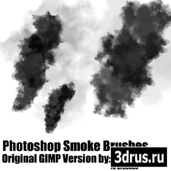 Adobe Photoshop Smoke Brushes 2013 - .ABR