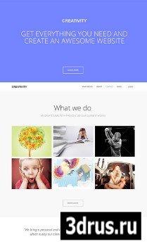 Gavick - GK Creativity - Responsive One Page Portfolio Joomla 2.5 Template