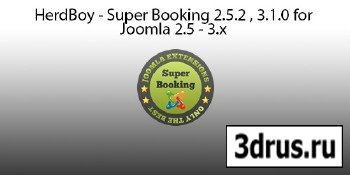 HerdBoy - Super Booking 2.5.2 , 3.1.0 for Joomla 2.5 - 3.x
