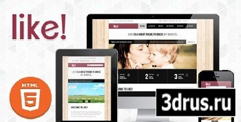 ThemeForest - Like! v1.0.2 - Responsive Multipurposes HTML5/CSS3 Theme