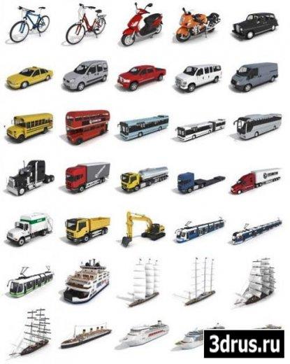 3D Models: Transport