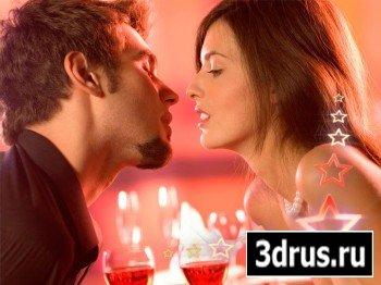 Романтический футаж прекрасный - Вечер романтики