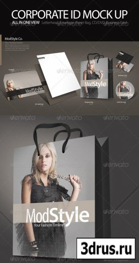 Corporate Identity Mock up Pro