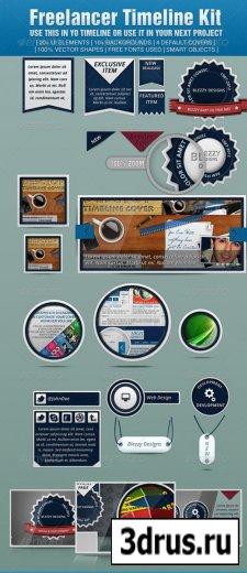 Freelancer Timeline Kit