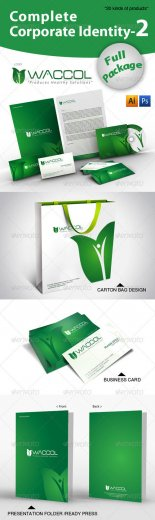 Complete Corporate Identity-2-Waccol Green