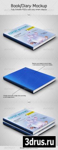 Book / Diary Mockup