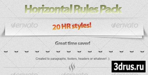 20 Horizontal Rule styles