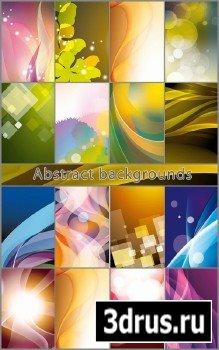 Разноцветные абстрактные фоны