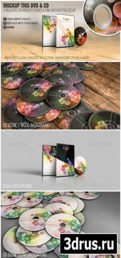 Mockup This DVD & CD