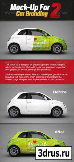 Mock-up for Car Branding 2
