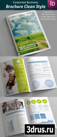 Business Brochure Clean Style