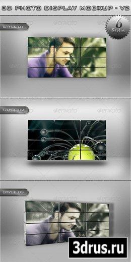 3D Photo Display MockUp – V2