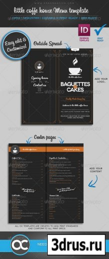 Little Coffee House Menu Template