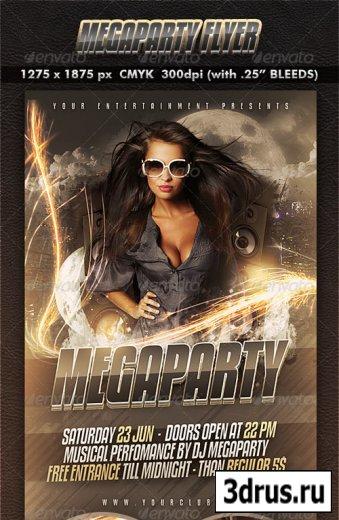 Megaparty Flyer
