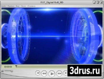 Футаж для оформления видео - Цифровые технологии