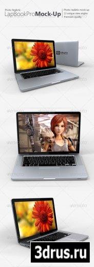 Photo-realistic Lap Book Pro