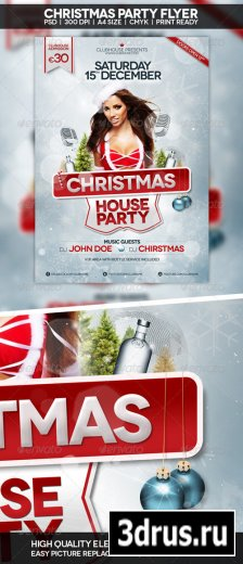 Christmas Flyer   Poster